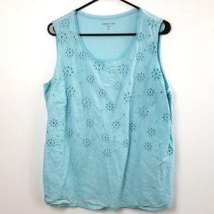 Coldwater Creek Women's Sleeveless Blouse size XL
